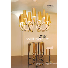 Elegant Good Quality Gold E14 Pendant Lamps (NLX8861-15)