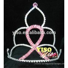 Coronas de cristal de la cinta del desfile grande