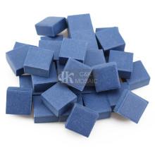 Azulejo de mosaico de cerámica azul para decoración de exteriores