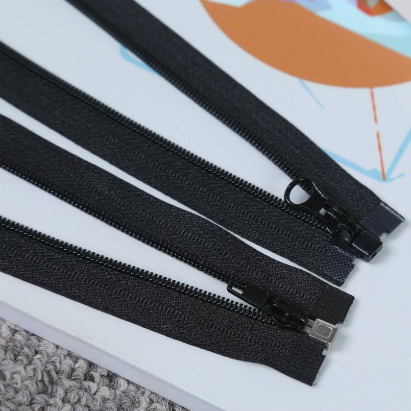 Black Strong Zippers