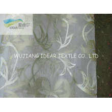 Flocked Polyester Organza Fabric For Decoration Fabric