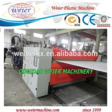 alta calidad de maquinaria de producción de hoja de PP PE PC red hueco