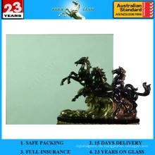 3-12mm dunkelgrünes Schwimmerglas mit AS / NZS 2208