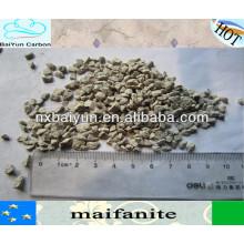 medios filtrantes de maifanita natural para purificación de agua