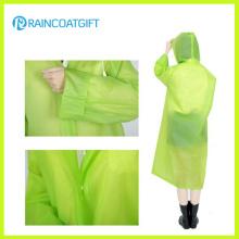Fashion Clear PVC Womens Poncho Rainwear Rvc-157