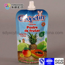 Yongxiang Brand Stand up Pouch with Spout para jugo de fruta / líquido