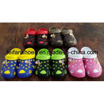 Os mais novos sapatos de jardim unisex homens chinelos EVA, tamancos de jardim da mulher, crianças jardim EVA sandálias