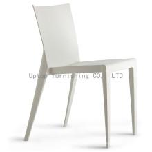 Сильный Открытый ресторан стул Белый пластик (СП-uc129)