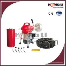 D75 elektrische Abflussrohr Reiniger Maschine / Abfall Waschbecken Abflussreiniger für den Hausgebrauch, 250W