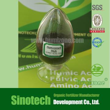 Fertilizante orgánico: Humizone Ácido húmico 70% Granular (HA70-G)