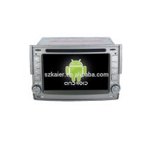 Quad core! Voiture dvd avec lien miroir / DVR / TPMS / OBD2 pour 6.2 pouces écran tactile quad core 4.4 Android système HYUNDAI H1