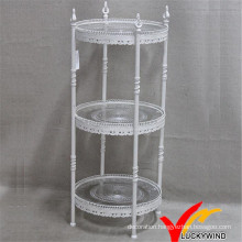 Vintage 3 Tier Metel Storage Stand for Cupcake and Cake