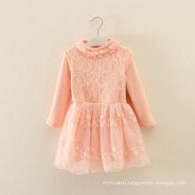 clothing set custume kids autumn clothes factory OEM winter children orange clothes woolen dresses coats