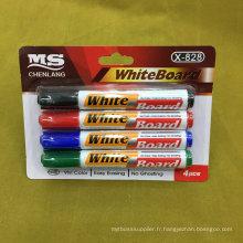 Stylo de marquage 4PCS Whiteboard, stylo à stylet Echarpe sèche