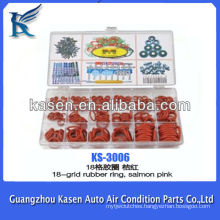 18-grid rubber ring,salmon pink Automotive Rubber Ring
