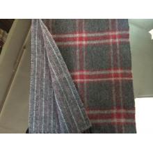 Écharpe d'hiver à carreaux réversible en cachemire CS15081901