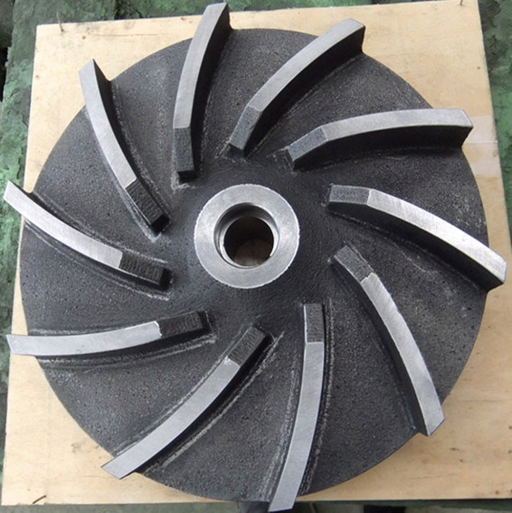 cast iron pump impeller