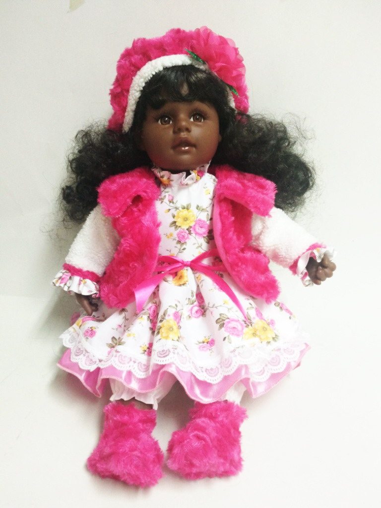 Black Curly Hair Doll