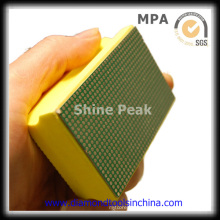 Diamond Hand Pad Polish para hormigón de mármol de granito