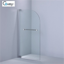 Curvada de la esquina de la pantalla de la bañera / bordes redondeados ducha de la pantalla (kw015)