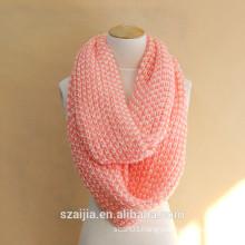 Fashion New winter warm polyester infinity scarf