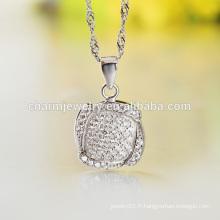 Différents types de belle chaîne en argent et chaîne longue pour Design Ladies Wholesale SCR006