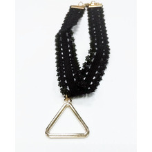 New Product Fashion Choker with Triangle Charm