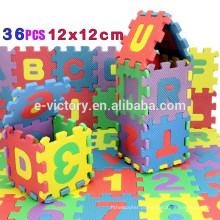36Pcs 12CM*12CM Environmentally EVA Foam puzzle Numbers+Letters Play Mat Puzzle Floor Mats Baby Carpet Pad Toys For Kids