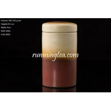 Brown Ceramic Tea Caddy 250g Tea