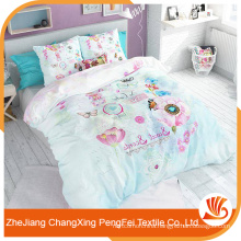 Chinese supplier hot sale stretched print cheap bed sheet fabric