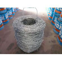 Grillage galvanisé à grillage en fil de fer barbelé