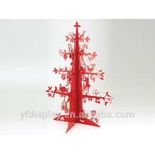 Weihnachtsbaum Form Red Acryl Laser Craft