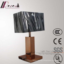 European Hotel Copper Bedside Table Lamp with 2PCS USB
