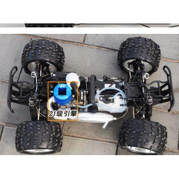 RC Model Car 1/8 Escala 4WD Nitro RC Buggy