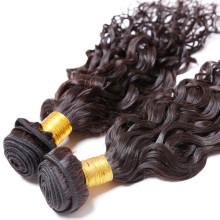 importieren 16-Zoll-lockige Welle jungfräuliche unverarbeitete indische Haare aus Indien