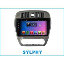 Lecteur DVD de voiture Android pour Sylphy avec voiture voiture de navigation GPS Bluetooth