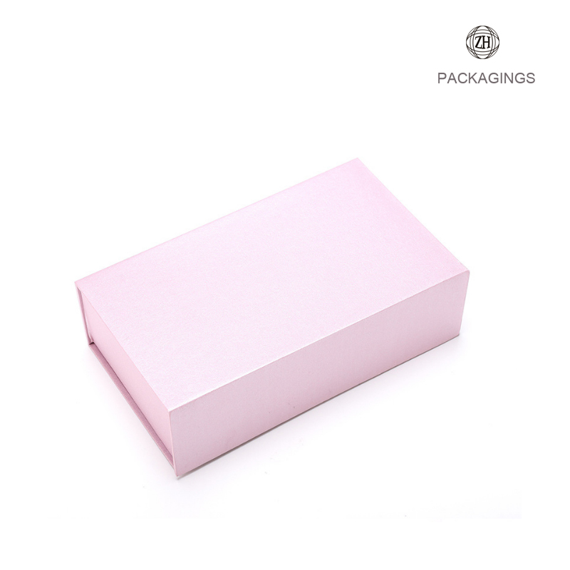Luxury book shape easy pack folding paper box