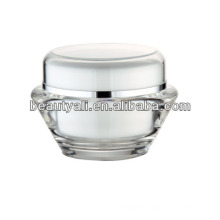15g 30g 50g UFO Shape Transparent Acrylic Cosmetic Jar