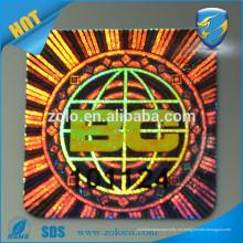 Etiquetas engomadas de encargo del sello de la seguridad del sello de la etiqueta engomada de la etiqueta engomada del holograma de una cáscara de huevo destructiva del uso del tiempo