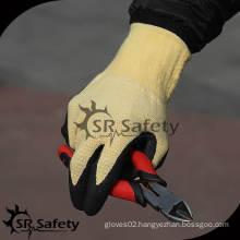 13G Cut Resistant Foam Nitrile Working Glove/ aramid fiber working gloves