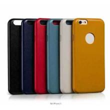 Caja al por mayor de la PU para la caja del teléfono móvil iPhone6