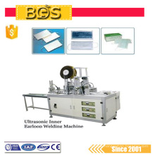 BDS supply ultrasonic disposable medical nonwoven face dust mask blank / outside/inside / tie on automatic making machine
