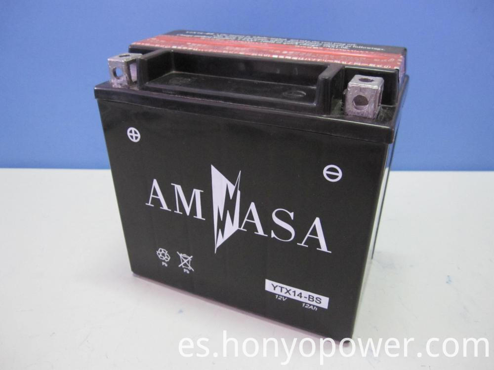 MF Motorcycle Batteries YTX14-BS