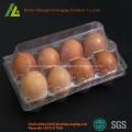 PET material transparent disposable plastic egg tray