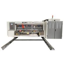 Newest Ink Flexo Printer Slotter Die cutting Machine Cardboard Good Quality