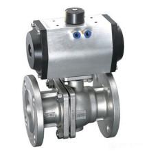 Электромагнитный двигатель ПВХ шариковый клапан нержавеющей стали