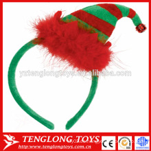 Accesorios X'mas cierre de pelo con sombrero de Navidad