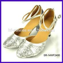 SR-14WF2400 fashion ballroom dance shoes cheap women high heel line dance shoes latin dance ballroom dance shoes