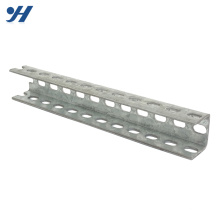 Cold Bending Steel Structure Hanging Perforated Steel U Channel