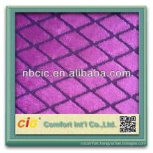 Cut Pile Sofa Fabrics Polyester Materials